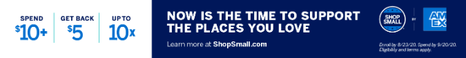 shop small banner